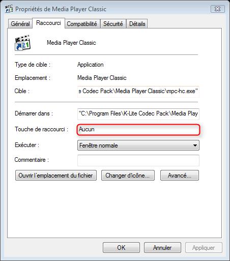 raccourci-clavier Comment créer un raccourci clavier pour ouvrir un programme