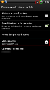 mode-network-gsm – wcdma-android