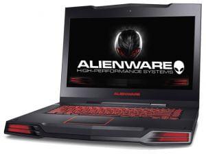 alienware laptop computer