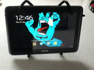 Spider-Tablette-6-300x225 Review / Test : Support universel pour tablette - Spider Podium