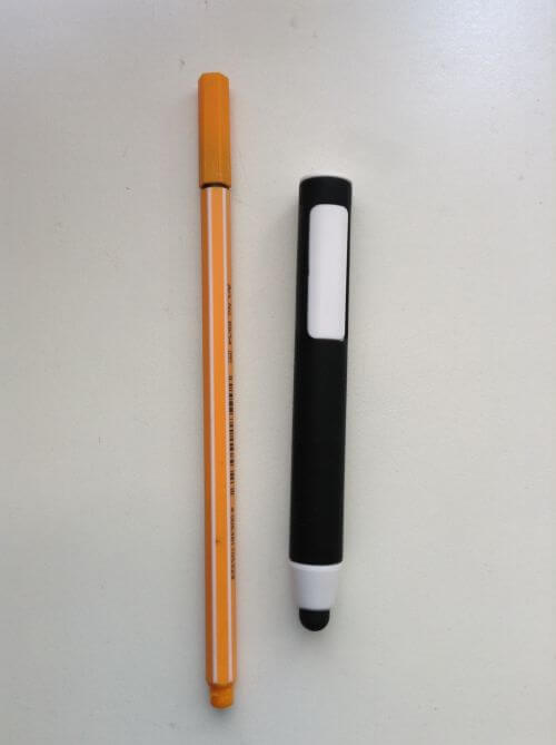 Stylus for capacitive screen