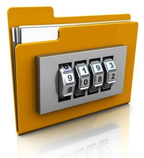 How to protect a password folder without software