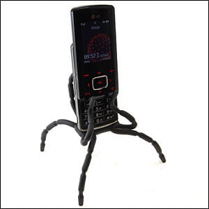 25528-2 Review / Test : Support universel SpiderPodium de Breffo pour smartphone