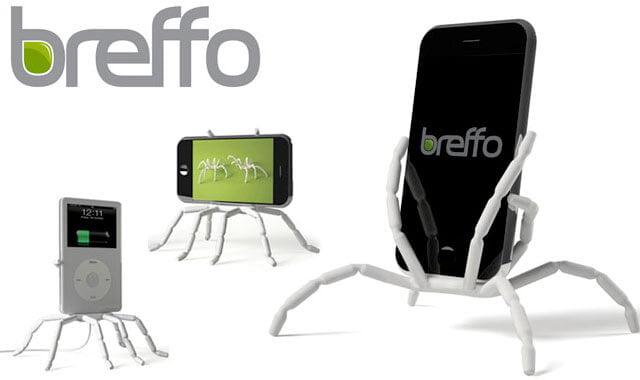 breffo_spiderpodium_white Review / Test : Support universel SpiderPodium de Breffo pour smartphone