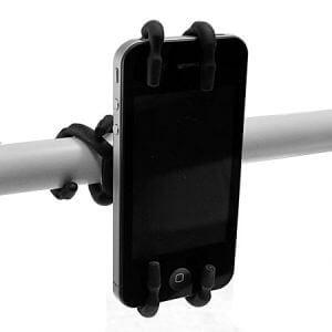 f-300x300 Review / Test : Support universel SpiderPodium de Breffo pour smartphone