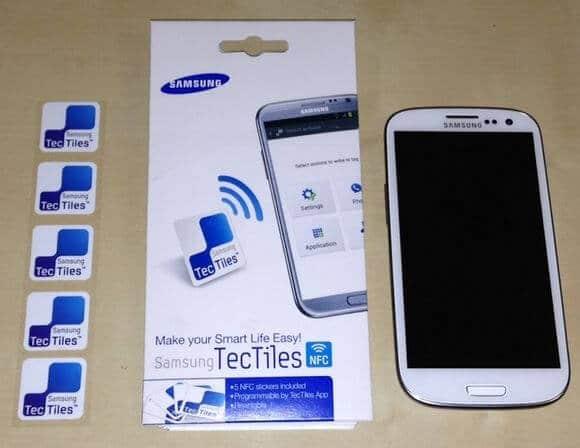NFC samsung tectiles