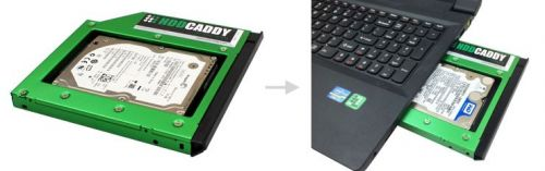 HDD caddy pc laptop