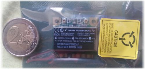 half-mini-pci-e-wifi-bluetooth-500x240 Review / Test : Silverstone ECW01 Wifi + Bluetooth