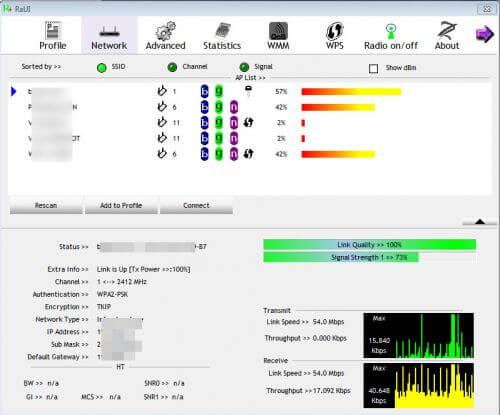 ralink-wifi-500x415 Review / Test : Silverstone ECW01 Wifi + Bluetooth
