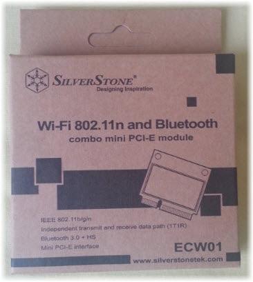 silverstone-ecw01 Review / Test : Silverstone ECW01 Wifi + Bluetooth