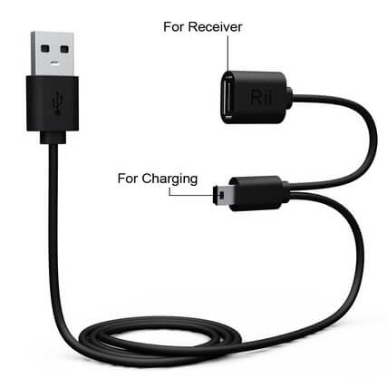cable-usb-chargeur-receveur Review / Test : Rii Mini i8+