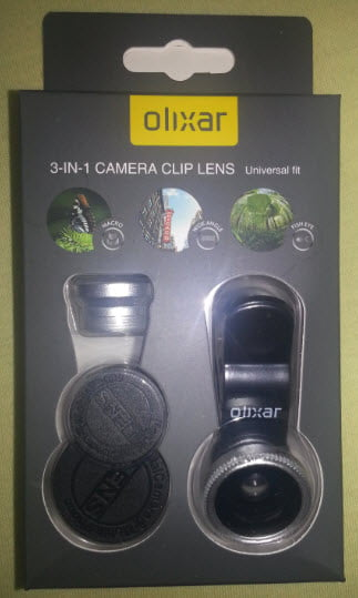 olixar 렌즈 3 in1 클립