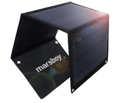 chargeur solaire marsboy