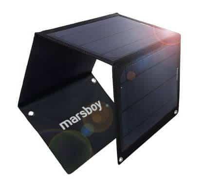chargeur-solaire-marsboy Test / Review: Marsboy Chargeur solaire 15W avec 2 ports USB de 2.4A en sortie