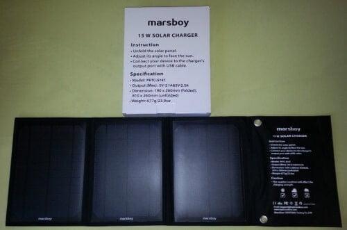 marsboy-solar-charger-15-w-500x331 Test / Review: Marsboy Chargeur solaire 15W avec 2 ports USB de 2.4A en sortie
