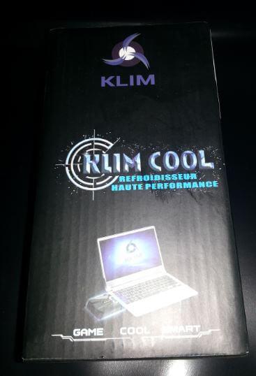 KLIM-COOL Test / Review: Refroidisseur par extraction d'air KLIM COOL, pour pc portable