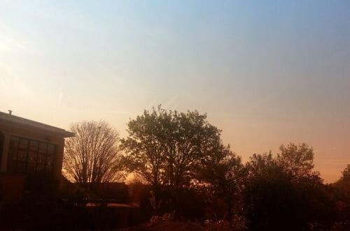 paysage avec degradé orange2