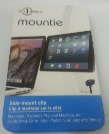 support-ecran-mountie Test / Review: Clip attache écran, Mountie de Ten One Design