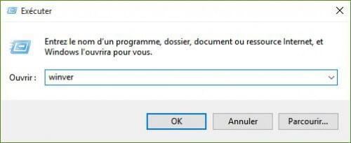 executer-winver-500x205 Windows 10: problème de mise à jour