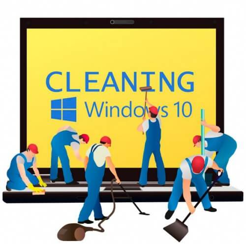 clean windows10