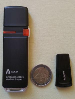 test avis cle usb adaptateur wifi recepteur et emetteur bluetooth aukey wf r