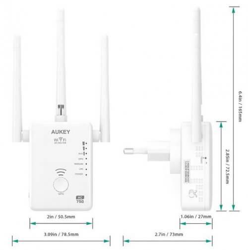 Kích thước-aukey-wf-A7-ac750