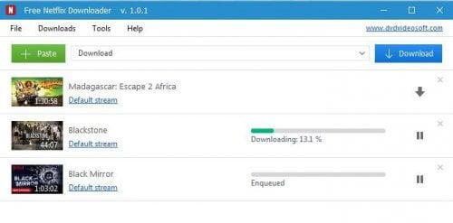 Ücretsiz netflix downloader
