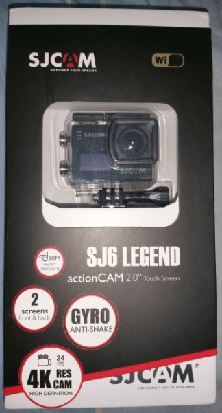 sjcam sj6 legend action cam