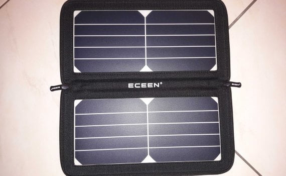 ECEEN Chargeur solaire 10 W04