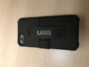 IMG_1737-300x225 Test/Avis : Coque iPhone 8 / 7 UAG Metropolis Rugged Wallet Portefeuille