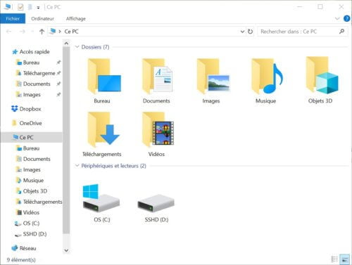 screenshot_05-500x377 Windows 10: How to change the quick access of the file Explorer