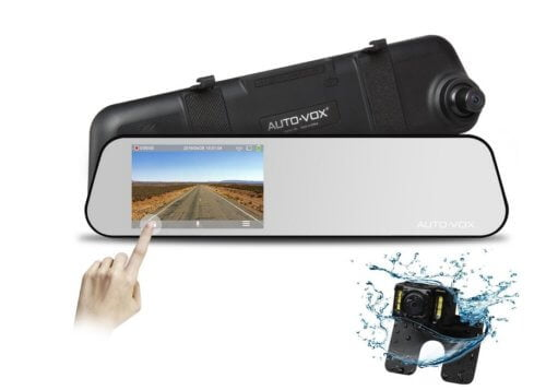 auto-vox-dvr-m6-500x357 Test / review: mirror dashcam Auto - Vox DVR - M6