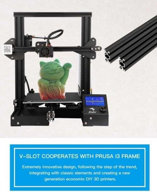 creality-ender-3-500x613 Flash rencana yang baik:-50 Euro pada printer 3D Creality Ender 3!