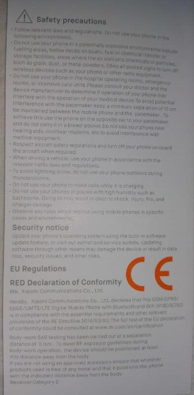 screenshot_19-393x800 Teste / review: Smartphone Xiaomi Redmi nota 5: o melhor smartphone sob 200 euros?