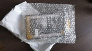 emballage rhinoshield papier bulle