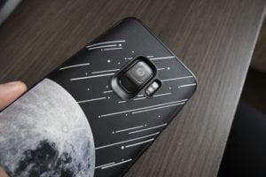 coque rhinoshield galaxy s9 météorites lune