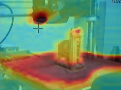 3D baskı termal görüntü