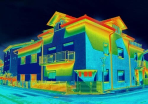 thermal camera house