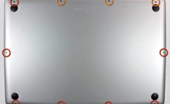 vis macbook pro arrière