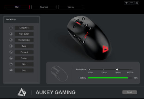 aukey souris gaming software